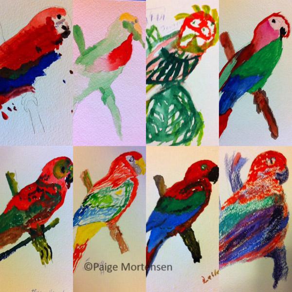 10-Parrots