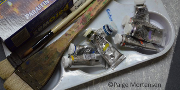 Watercolour Batik Process Tools