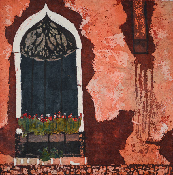 "Stories Inside II ©Paige Mortensen Watercolour 15x15"" $300"