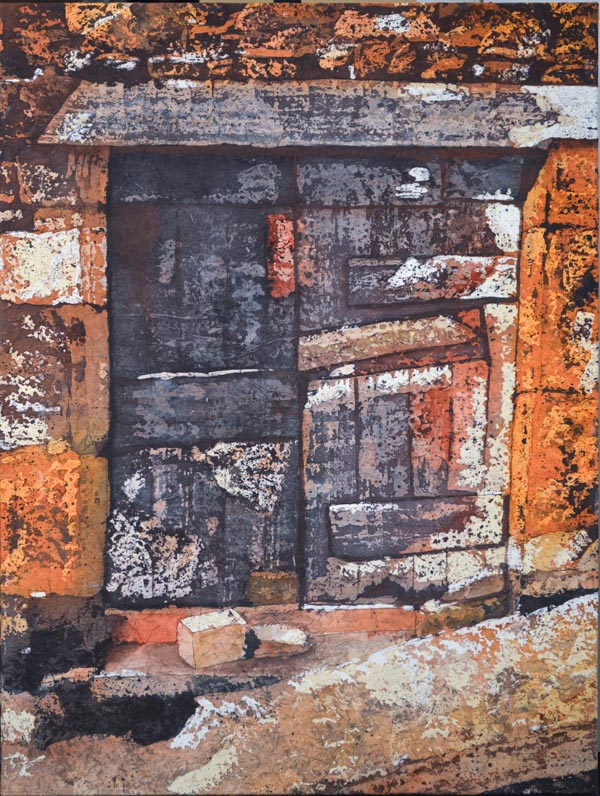 "Stories Inside XI ©Paige Mortensen Watercolour 18x24"" $700"