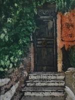 "Stories Inside XVIII ©Paige Mortensen Watercolour 12x18\"" SOLD"
