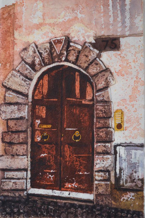 "Stories Inside V ©Paige Mortensen Watercolour 12x18\"" $375"