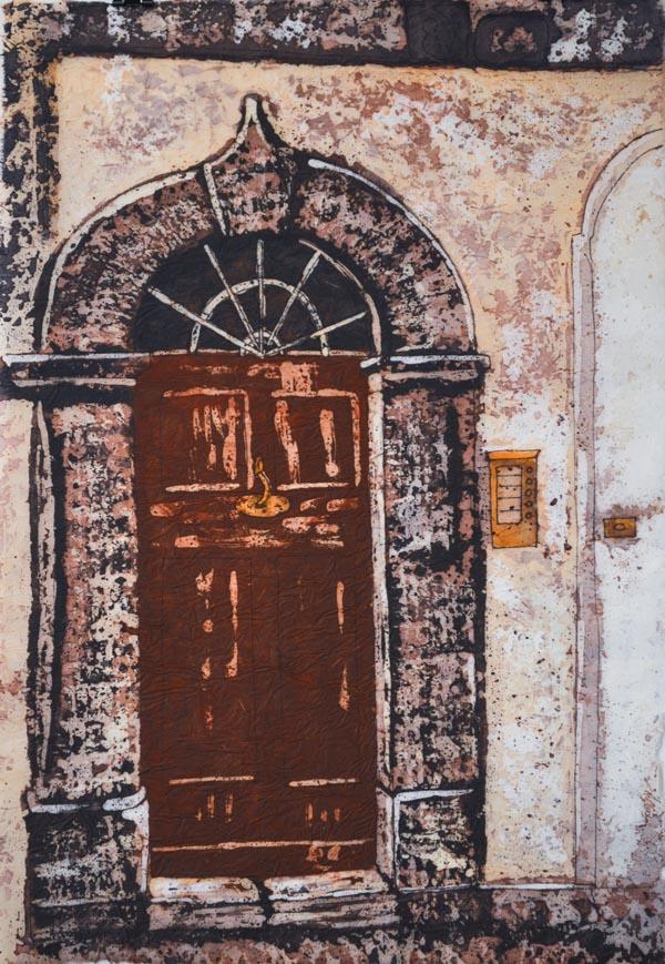 """Stories Inside X ©Paige Mortensen Watercolour 12x18\"""" $375"""