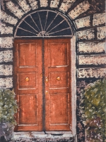 "Stories Inside IX ©Paige Mortensen Watercolour 12x18"" $375"
